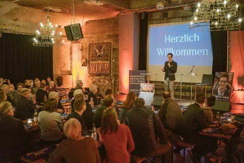 Team Horn – Auftaktveranstaltung der Wählerinitiative in der Wodan Halle am 17. März