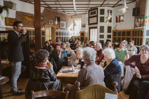"""Im McNamara's Irish Pub gab es """"Auf ein Guinness mit Martin Horn""""!"""