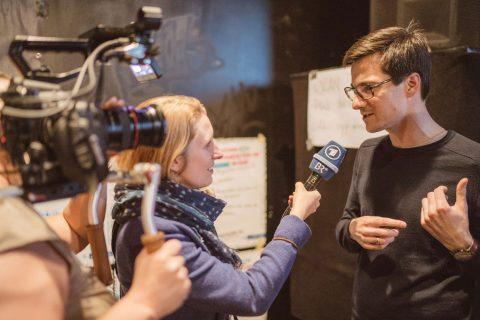 ARD Alpha interviewte Martin Horn für den Fernsehbeitrag kommenden Donnerstag (12.4.2018).