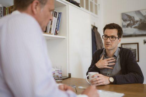 Im Gespräch mit Chefredakteur Lars Bargmann des Chilli Magazins.
