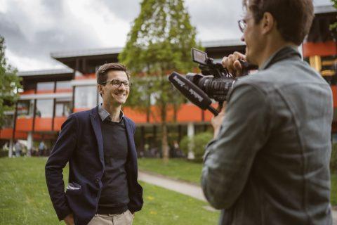 BZ-Video Interview auf dem PH Campus