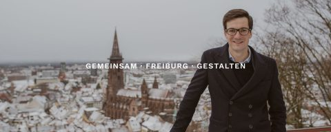 Martin Horn Oberbürgermeister Kandidatur zur Wahl 2018 – Gemeinsam · Freibug · Gestalten