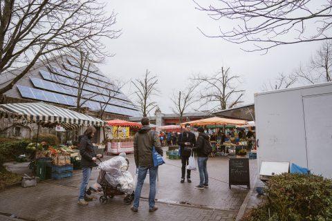 Besuch auf dem Wochenmarkt in St. Georgen