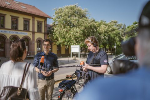 Am Wahltag noch ein ZDF Interview für die Nachrichten um 17 Uhr gegeben. Auf ein gutes Ergebnis am Abend.