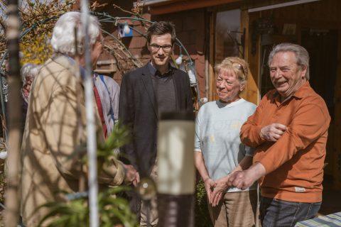 Besuch bei den Gartenfreunden Freiburg Nord e.V. im Gewann Höfle