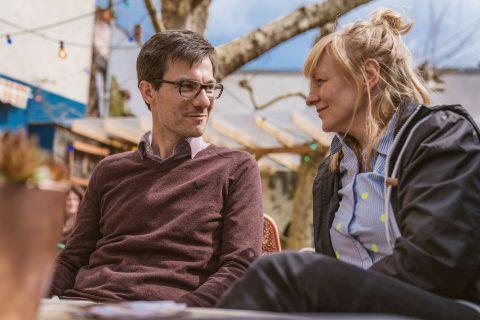 Martina Knittel, Inhaberin des Grünhofs, sprach mit Martin Horn ausführlich über die Gründungskultur in der Stadt. Was kann besser gemacht werden? Was läuft gut? Welche Wünsche hat sie und vieles mehr.