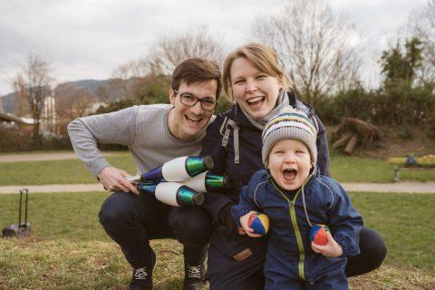 Familientag am Wochenende genießen
