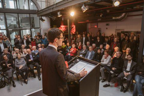 Rede auf dem SPD Neujahrsempfang