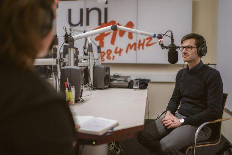 Interview mit uniFM