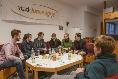 Der Stadtjugendring Freiburg lud zum Kennenlernen ein - danke für das Gespräch.