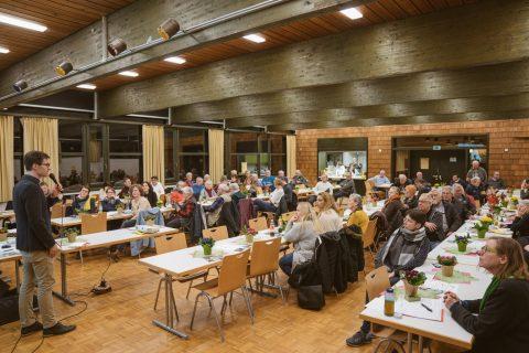 Der Verein der Gartenfreunde Freiburg-Nord e.V. auf seiner Jahreshauptversammlung mit wichtigen Anliegen an die Freiburger Politik.