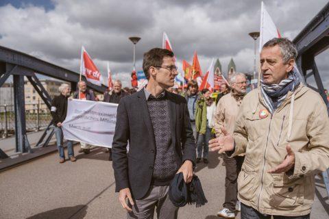 Auf einen guten 1. Mai! Für faire Löhne und gute Arbeitsbedingungen. Das diesjährige Motto trifft es punktgenau: Solidarität, Vielfalt, Gerechtigkeit! Vielen Dank für die Organisation DGB Freiburg!
