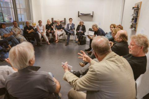 Auf Einladung der Kulturliste fand ein Treffen am 12. Juni 2018 im Geigesturm statt. Der Austausch mit den Kulturliebhaber*innen und Schaffenden ist enorm wichtig.