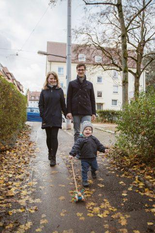 Martin Horn mit Frau Irina und Sohn