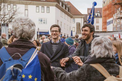 Im Europarat in Straßburg verknüpft Martin Horn europäische Perspektiven mit kommunalen Anliegen. Dementsprechend unterstützt er die Anliegen von Pulse Of Europe.