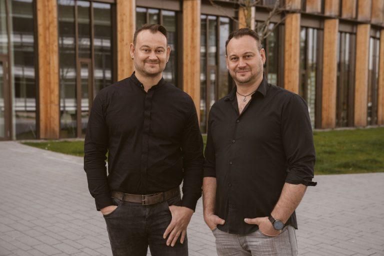 Oliver und Frank Weik, Schauspieler und Leiter der Weikacting Company
