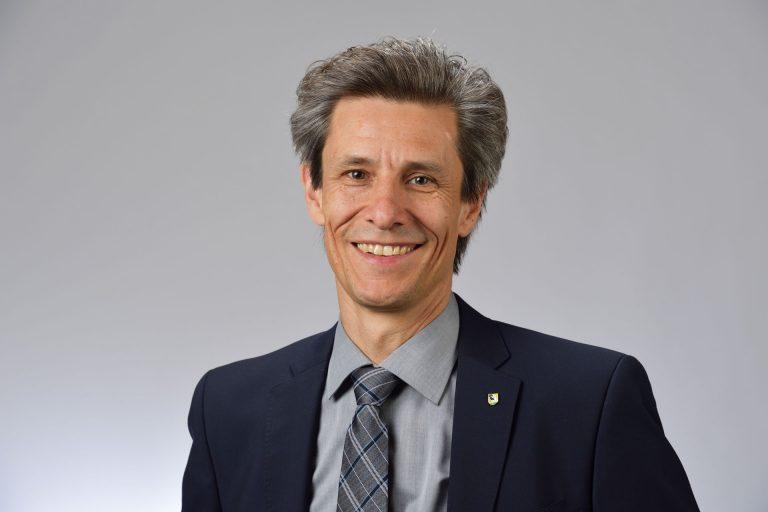 Peter Neukomm, Stadtpräsident Schaffhausen (Schweiz)
